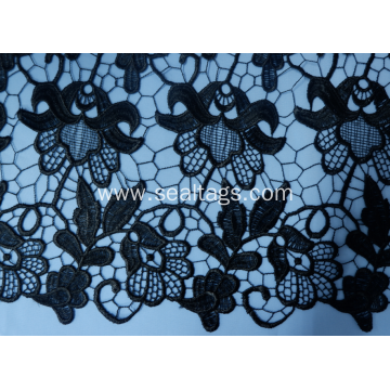 Textile Elastic African Lace Trim for Dresses